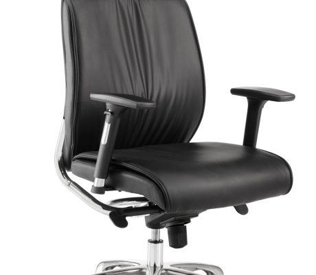 Cadira de despatx tapissada