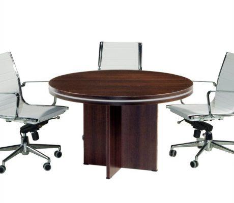 Taula petita d'oficina per a reunions