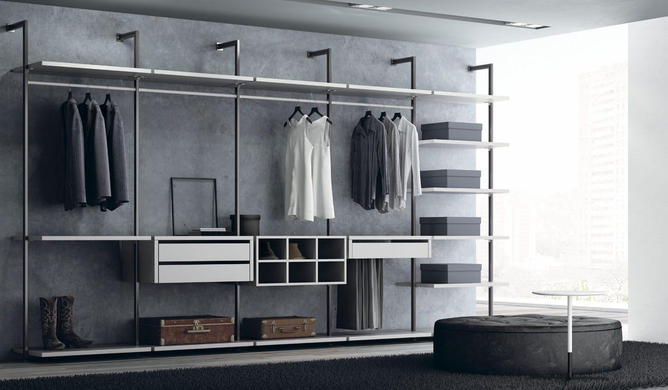 mueble-armario-vestidor-estanteria-metalica-abierta
