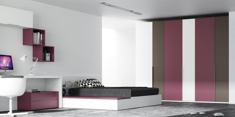 mueble-juvenil-cama-canape-correderas-colores