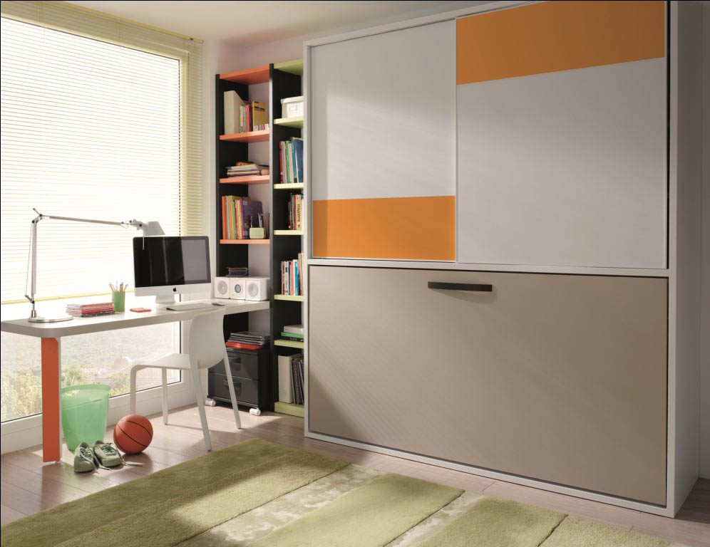 mueble-juvenil-cama-horizontal-abatible-armario