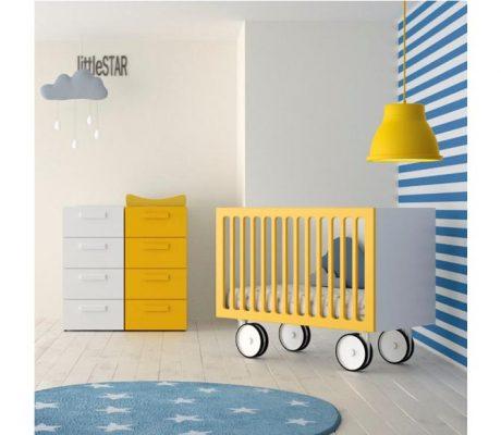Habitació nadó bressol