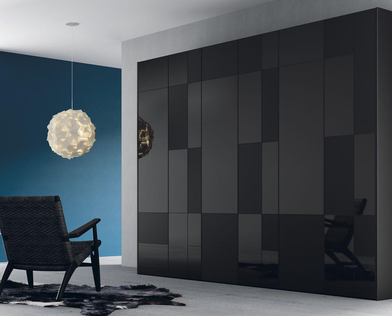 muebles-armarios-puertas-batientes-combinacion-acabados-negros